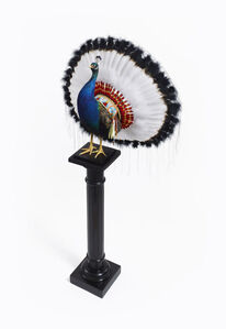Nancy Fouts, 'Peacock War Bonnet', 2017