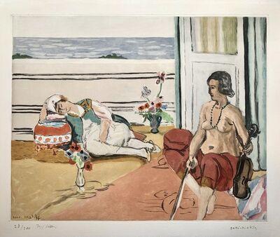 Henri Matisse, 'Odalisque sur la terrasse', 1922