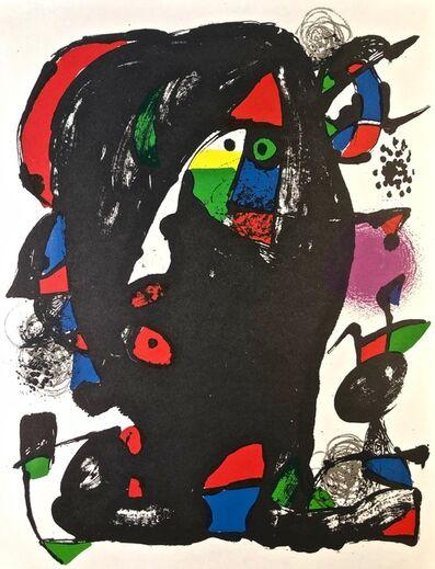 Joan Miró, 'Lithographie Originale IV', 1981
