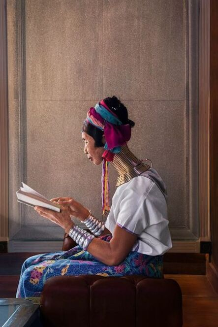 Steve McCurry, 'A woman reads in the light coming through the window, Chiang Mai, Thailand', 2012