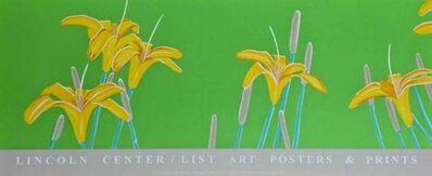Alex Katz, 'Day Lilies, 1992 Lincoln Center Exhibition Silkscreen Poster', 1992