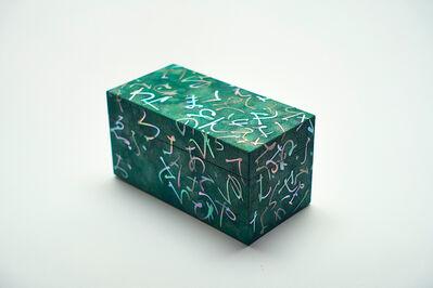 Shinya Yamamura, 'Mother of pearl inlay letter pattern small box', 2015