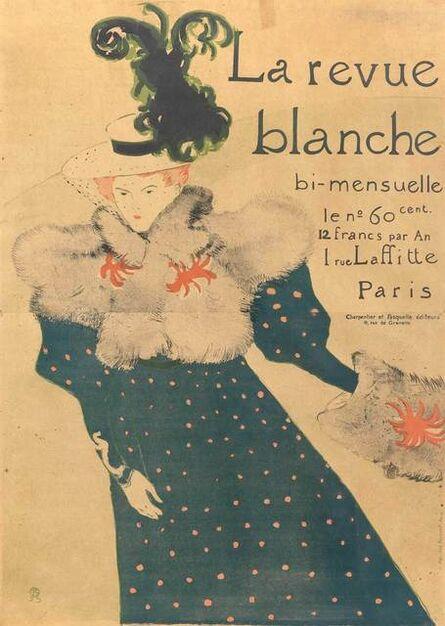 Henri de Toulouse-Lautrec, 'LA REVUE BLANCHE (DELTEIL 355; ADHEMAR 115; WITTROCK P18)', 1895