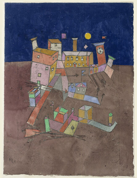 """Paul Klee, 'Party from G. (""""Partie aus G."""")', 1927"""