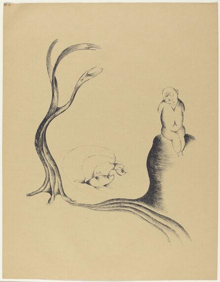 Heinrich Hoerle, 'Der Baum der Sehnsucht (The Tree of Longing)', 1920