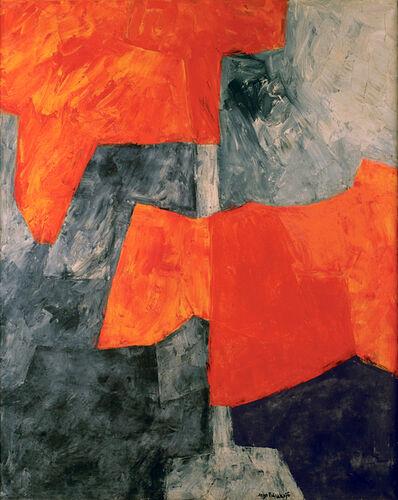 Serge Poliakoff, 'Gris et rouge', 1964
