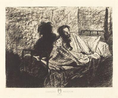 Leopold Flameng, 'Charles Meryon', 1858