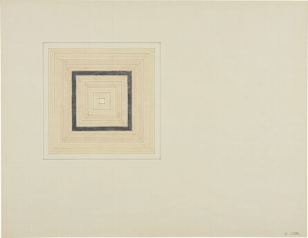 Frank Stella, 'Untitled (Concentric Square)', circa 1960s