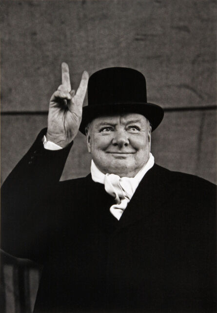 Alfred Eisenstaedt, 'Winston Churchill Campaigning, Liverpool, 1951', 1951