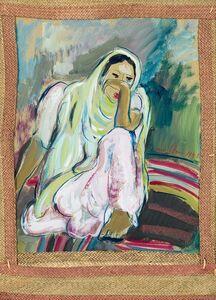 Irma Stern, 'Indian', 1945
