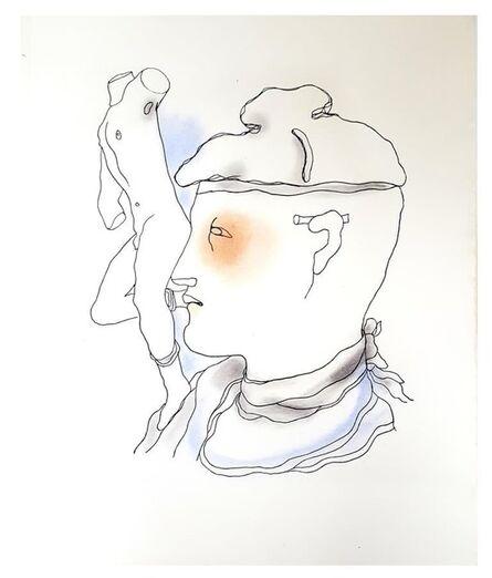 "Jean Cocteau, 'Original Lithograph ""White Book"" by Jean Cocteau', 1930"
