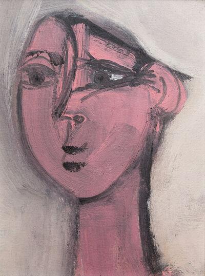 Grégoire Müller, 'Cubist Face', 1978