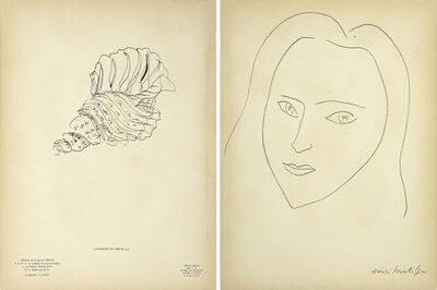 Henri Matisse, 'Portrait', 1945