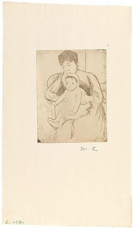 Mary Cassatt, 'Preparing Bill for an Outing', ca. 1889