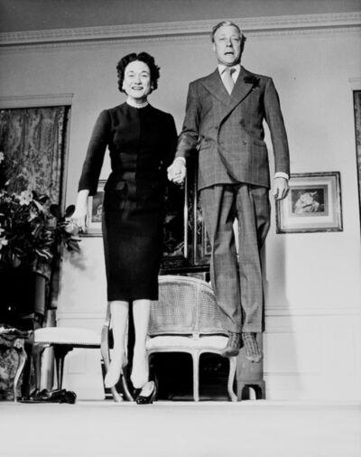 Philippe Halsman, ' Duke and Duchess of Windsor', 1956