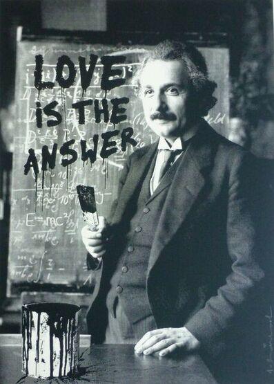 Mr. Brainwash, 'Happy Birthday Einstein', 2018