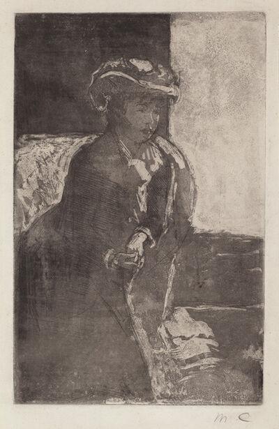 Mary Cassatt, 'The Corner of the Sofa (No. 3)', ca. 1879