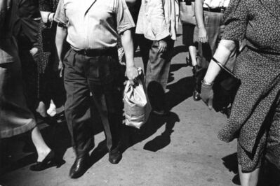 Rudy Burckhardt, 'Midday Crowd', ca. 1939