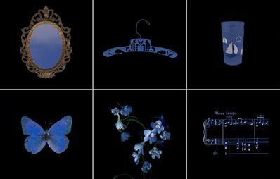 Laurie Tümer, 'Glowing Evidence: Studies in Blue', 2005