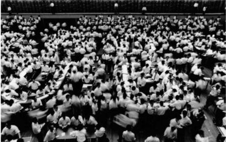 William Klein, 'The Stock Market Ceremony, Tokyo', 1961