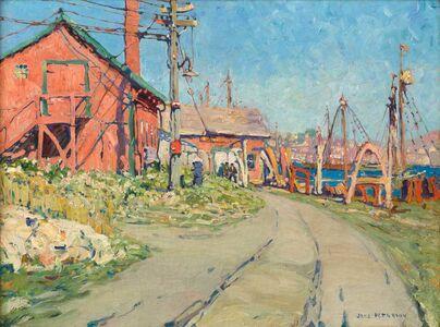 Jane Peterson, 'The Red House, Gloucester, Massachusetts', 1915-1916