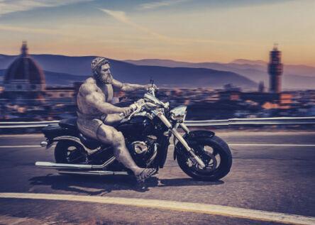 EMRE YUSUFI, 'Hercules on Ride', 2017