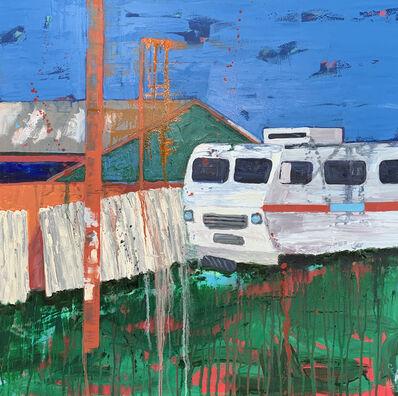 Lindy Chambers, 'Snow Bird Wagon ', 2020
