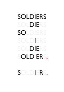 Rowan Ottesen, 'Soldiers', 2014