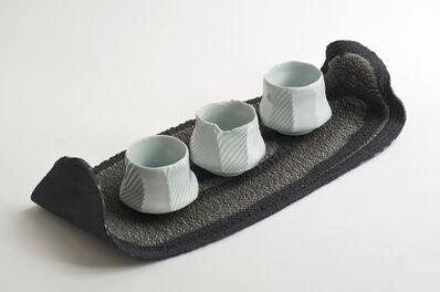 Andrew Deem, 'Monochrome Platter and Celadon Bowls', 2014