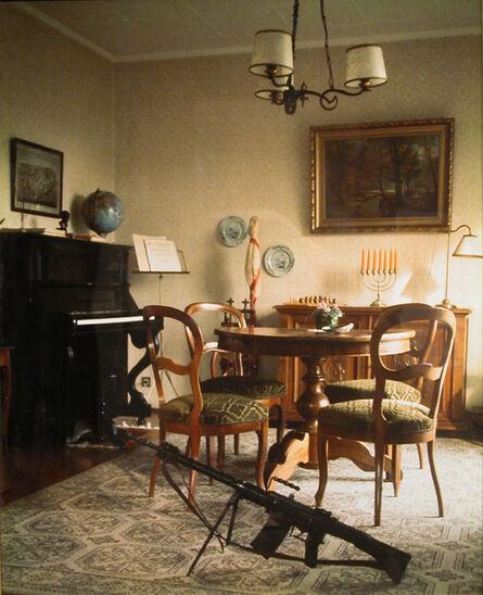 Ian Howard (b. 1947), 'Swiss Domestic Scene', 1976