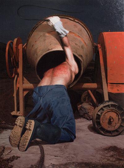 Dragan Bibin, 'Unfinished #6, Confessional 2', 2017