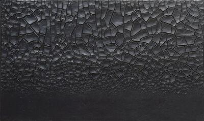 Alberto Burri, 'Grande cretto nero (Large Black Cretto)', 1977