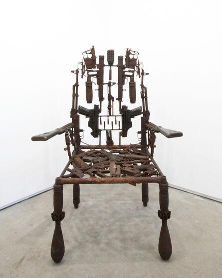 Gonçalo Mabunda, 'Untitled (Throne)', 2011