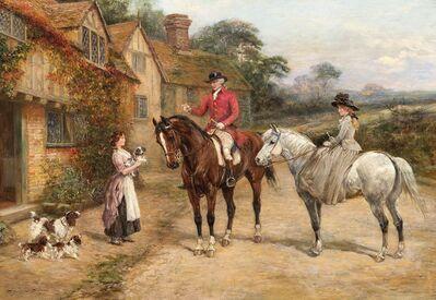 Heywood Hardy, 'The New Litter', 19th Century