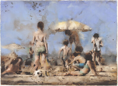 Yves Crenn, 'Scène à Trouville'