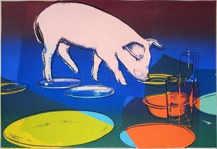 Andy Warhol, 'FIESTA PIG FS II.184', 1979