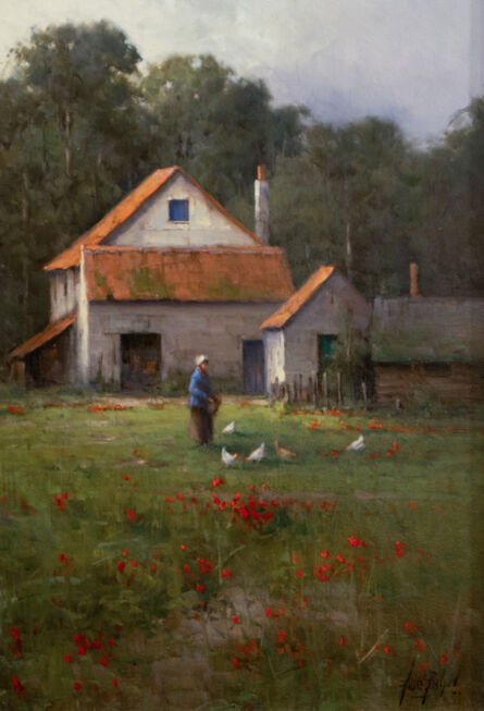 Andre Balyon, 'Summer on the Farm', 2016