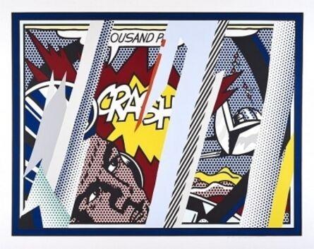 Roy Lichtenstein, 'Reflections on Crash (Corlett 239)', 1990