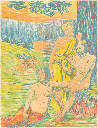 Hippolyte Petitjean, 'Pan IV (Arcadia)', 1898/1900