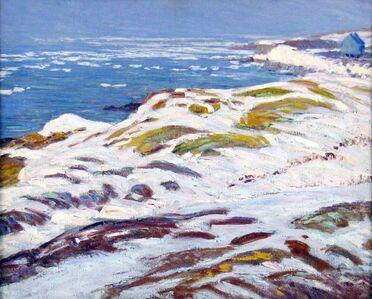 Morris Hall Pancoast, 'Rockport Winter Shore', ca. 1920