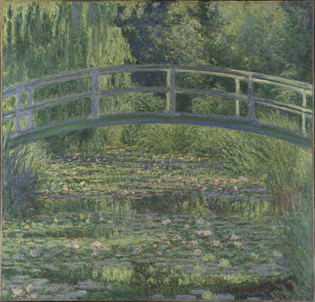 Claude Monet, 'The Water-Lily Pond', 1899