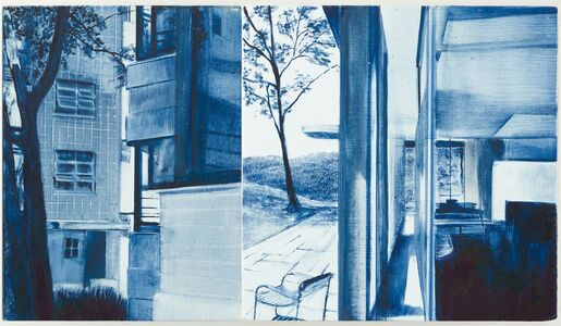 Rebecca Chamberlain, 'Lescaze, Public/Private Between Walls, Homatorium', 2015