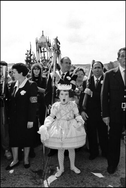 "Cristina Garcia Rodero, 'SPAIN. Murcia. Abaràn. 1993. Fiesta de las Cruces (""Festival of the Crosses"") or Cruz de Mayo (""May Cross""), celebrated the 3rd of May.', 1993"