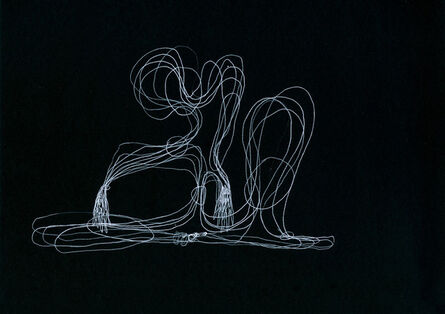 Tatiana Grinberg, 'distânciarecoberta_ensaio_partitura_dr_corte_n [d]', 2014