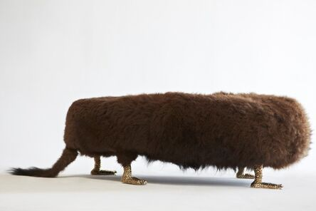 """Haas Brothers, '""""Beast"""" bench', 2013"""