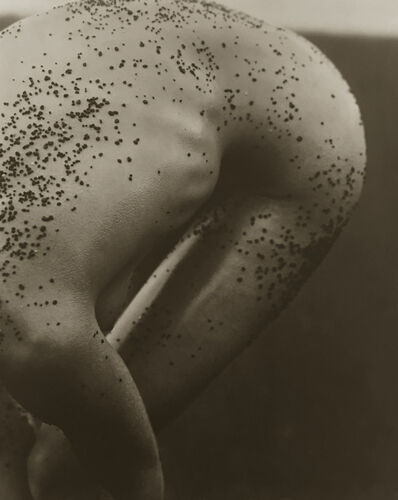 Herb Ritts, 'Female Torso with Black Sand, Hawaii', 1989