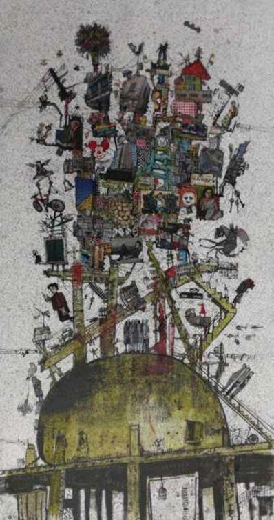 Zena Assi, 'My city on the egg', 2020