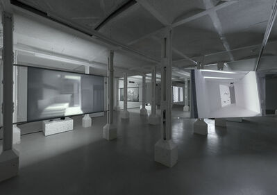Gilad Ratman, ''Four Works' installation view: 'Swarm'', 2015