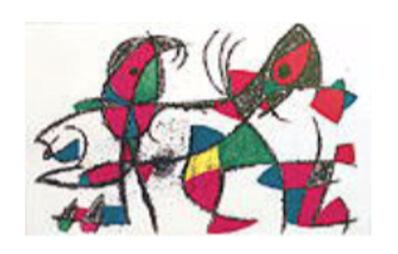 Joan Miró, 'Miro Lithographs Volume II Plate X', 1972