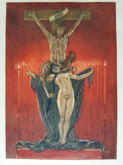 Félicien Rops, 'Le Calvaire', 1882